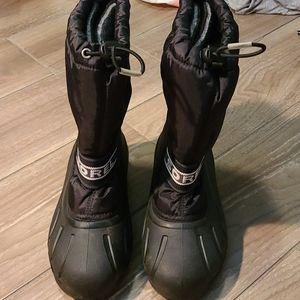 Sorel black snow boots